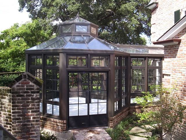 Greenhouse construction by claytonhill greenhouse company for Victorian style greenhouse